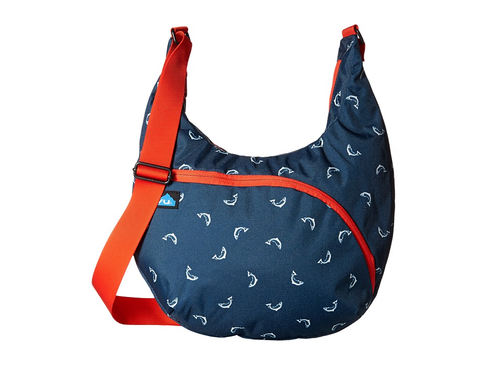 KAVU - Singapore Satchel (Fly Fish) Hobo Handbags
