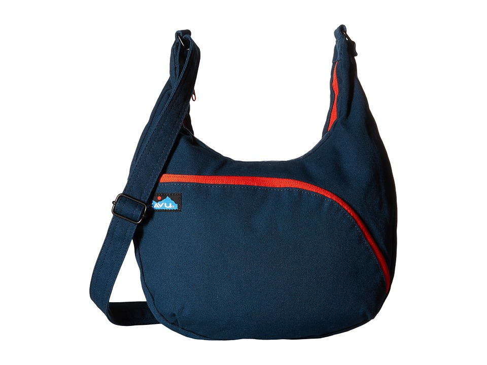 KAVU - Sydney Satchel (Navy) Satchel Handbags