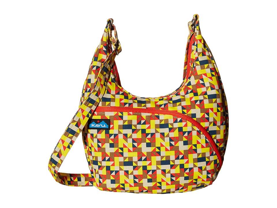 KAVU - Sydney Satchel (Desert Quilt) Satchel Handbags