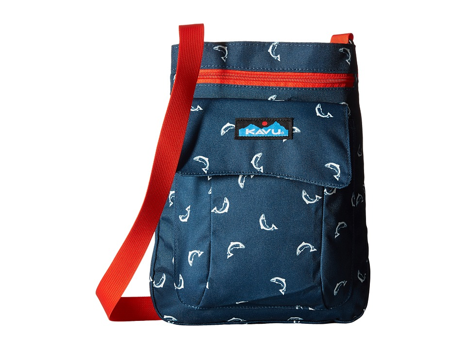 KAVU - For Keeps (Fly Fish) Cross Body Handbags