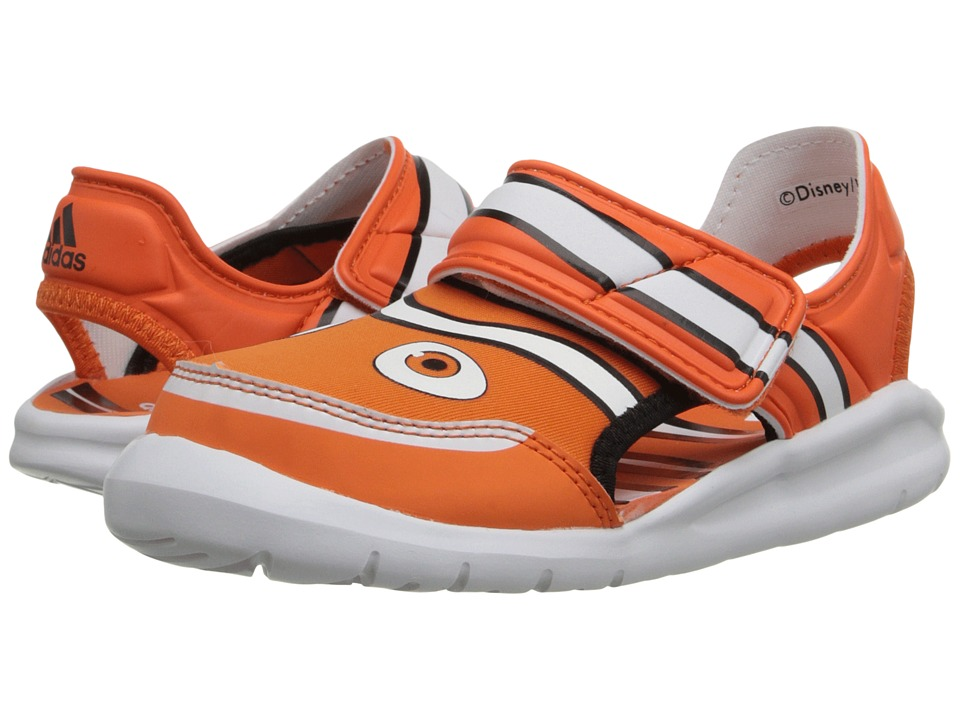 adidas Kids - Disney Nemo FlexZee (Infant/Toddler) (Orange/Footwear White/Core Black) Kids Shoes