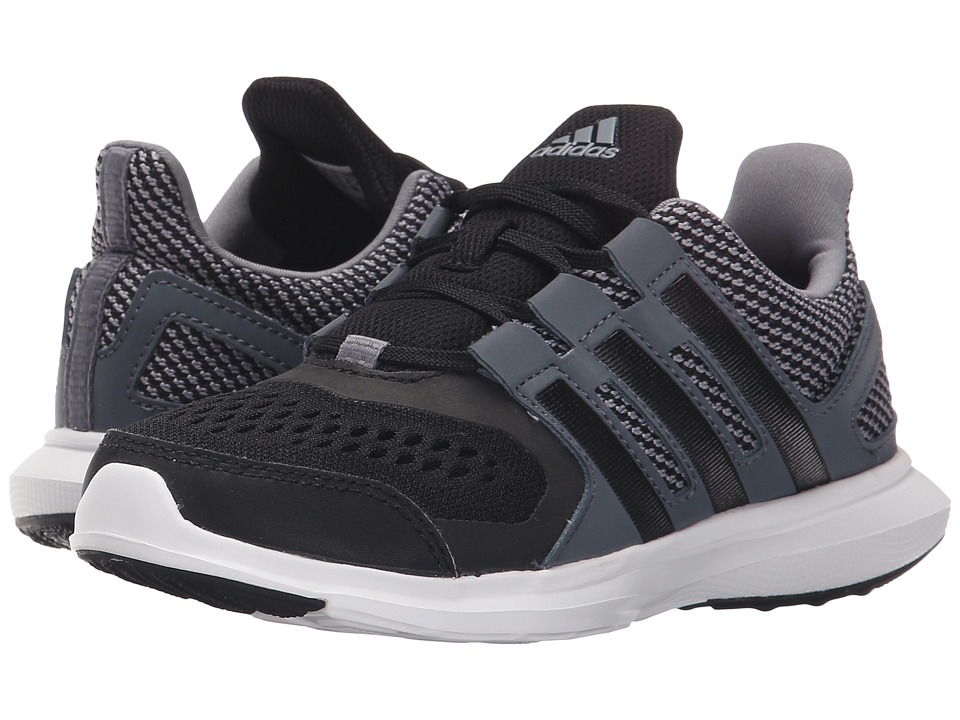 adidas Kids - Hyperfast 2.0 (Little Kid/Big Kid) (Grey/Black/Onix) Boys Shoes