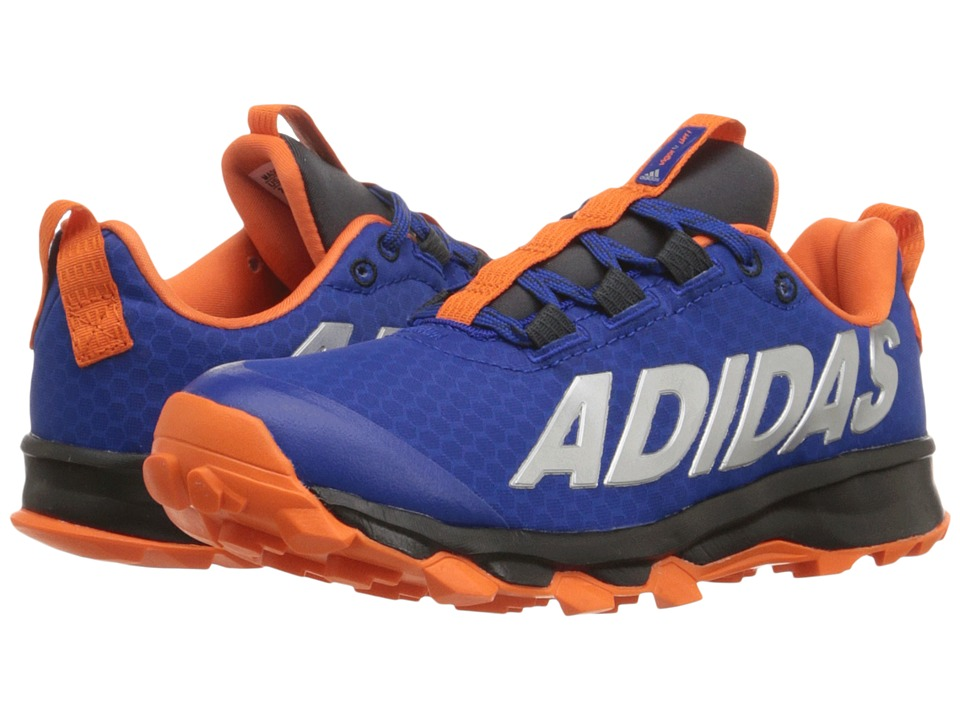 adidas Kids Vigor 6 TR (Little Kid/Big Kid) (Collegiate Royal/Orange/Dark Grey) Boys Shoes
