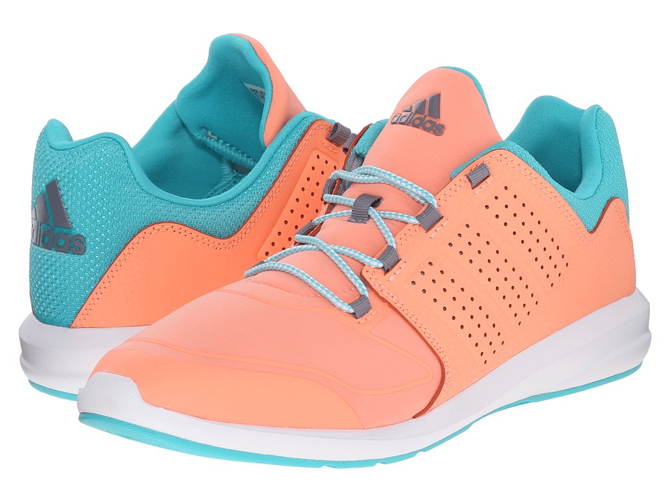 adidas Kids - S-Flex (Little Kid/Big Kid) (Sun Glow/Vivid Mint/White) Girls Shoes