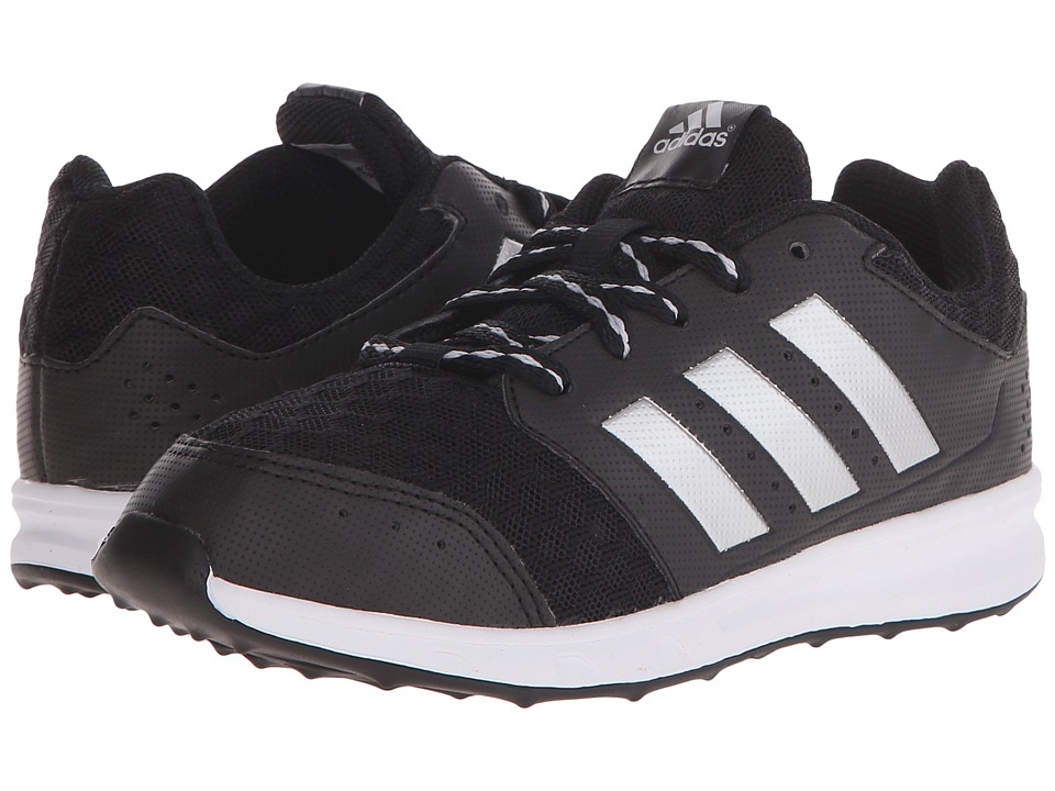 adidas Kids - LK Sport 2 (Little Kid/Big Kid) (Black/Matte Silver) Boy's Shoes