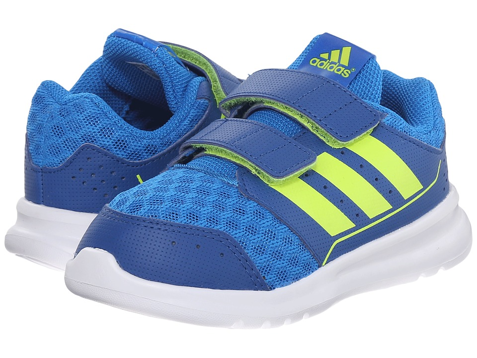 adidas Kids - LK Sport CF (Toddler) (Collegiate Navy/Semi Solar Slime/Equipment Blue) Boys Shoes