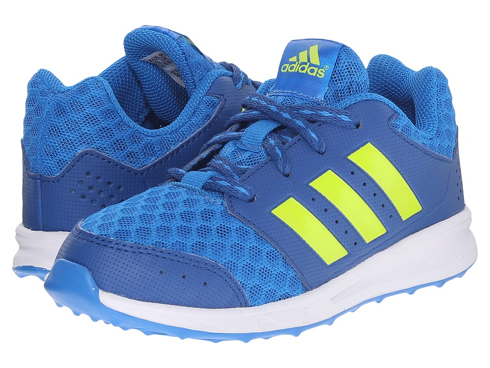 adidas Kids - LK Sport 2 (Little Kid/Big Kid) (Equipment Blue/Semi Solar Slime/Shock Blue) Boy's Shoes