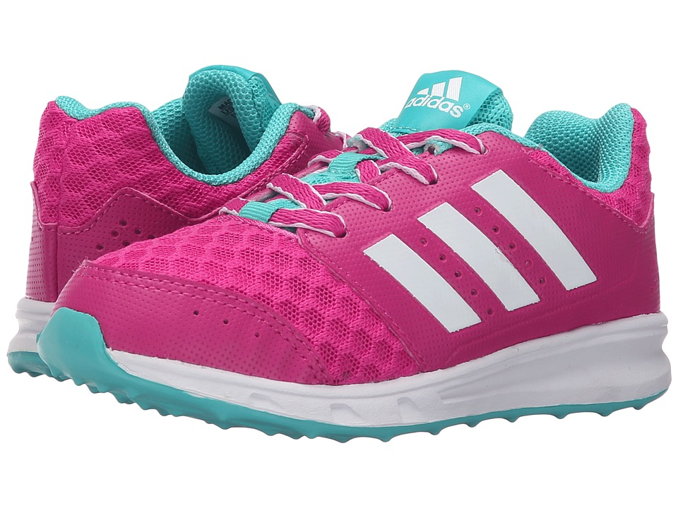 adidas Kids - LK Sport 2 (Little Kid/Big Kid) (Equipment Pink/White/Vivid Mint) Girl's Shoes