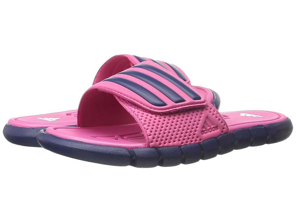 adidas Kids - adiLight SC xJ (Little Kid/Big Kid) (Equipment Pink/Raw Purple/White) Girls Shoes