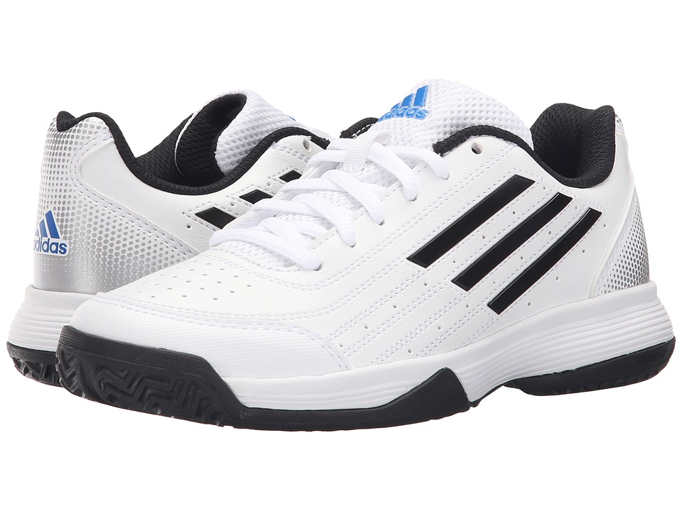 adidas Kids - Sonic Attack (Little Kid/Big Kid) (White/Black/Matte Silver) Boys Shoes