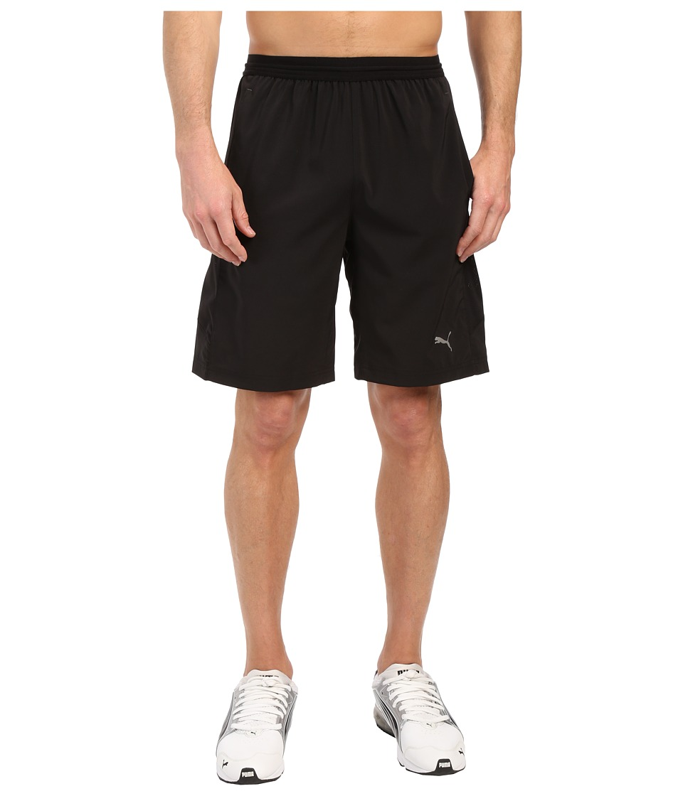 PUMA - Vent Stretch Woven Shorts (Black) Men's Shorts