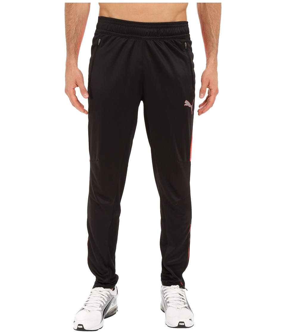 PUMA - Flicker Pants (Black/Red Blast) Men's Casual Pants