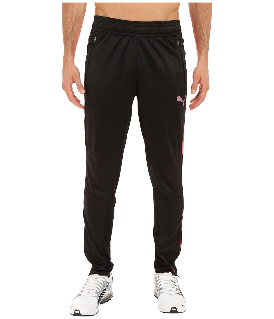PUMA - Flicker Pants (Black/Red Blast) Men's Casual Pants