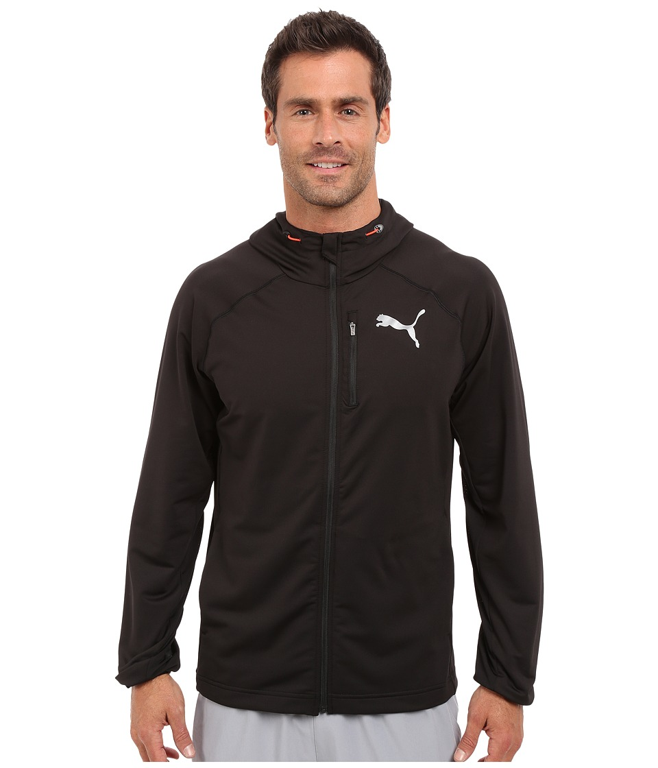 PUMA - Tech Fleece FZ Hoodie (Black) Men's Sweatshirt