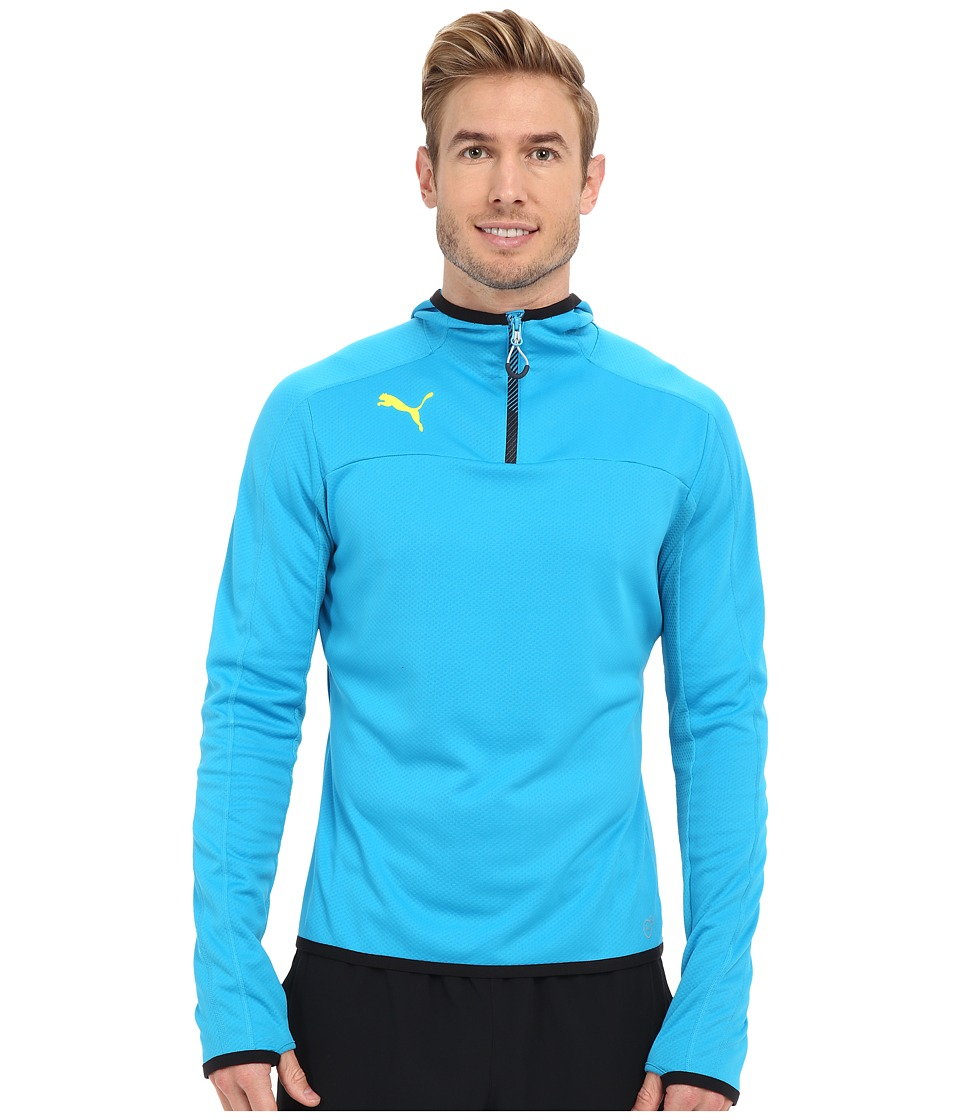 PUMA - IT Evotrg Hoodie (Atomic Blue/Black) Men's Sweatshirt