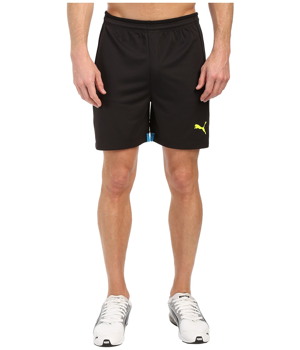 PUMA - IT Evotrg Shorts (Black/Atomic Blue) Men's Shorts