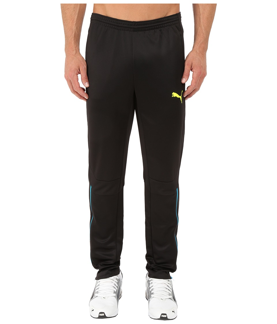 PUMA - IT Evotrg Pants (Black/Atomic Blue) Men's Clothing