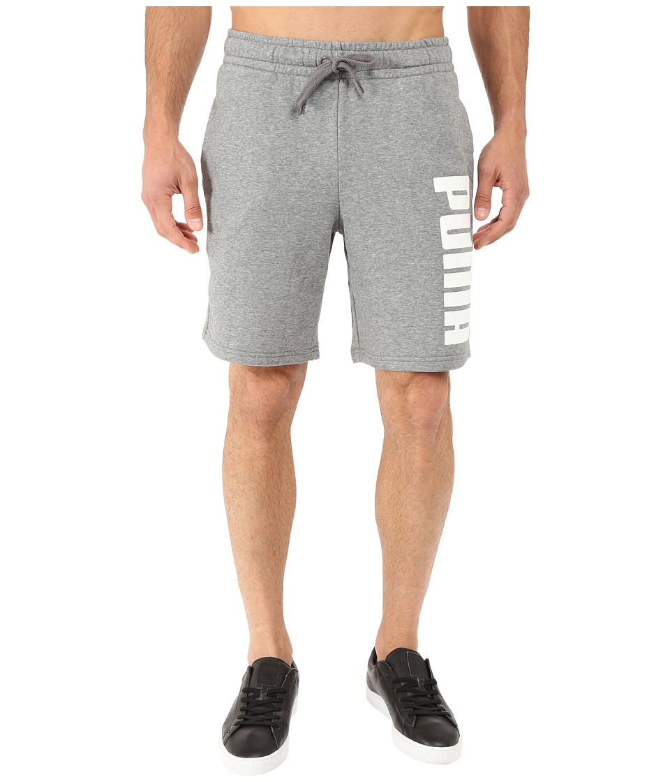 PUMA - Fun Shorts SH (Medium Gray Heather) Men's Shorts