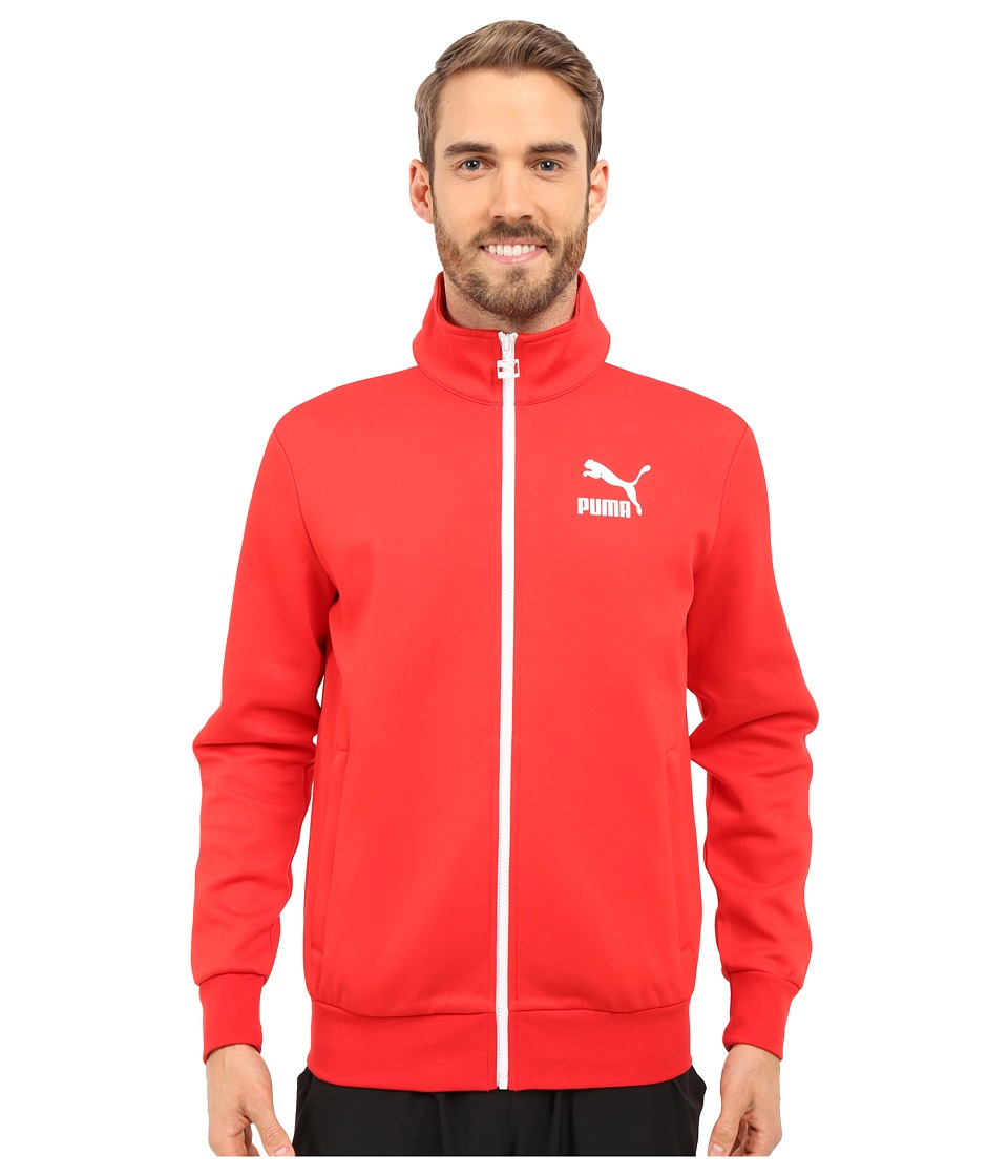 PUMA - Archive T7 Track Jacket (High Risk Red) Men's Coat
