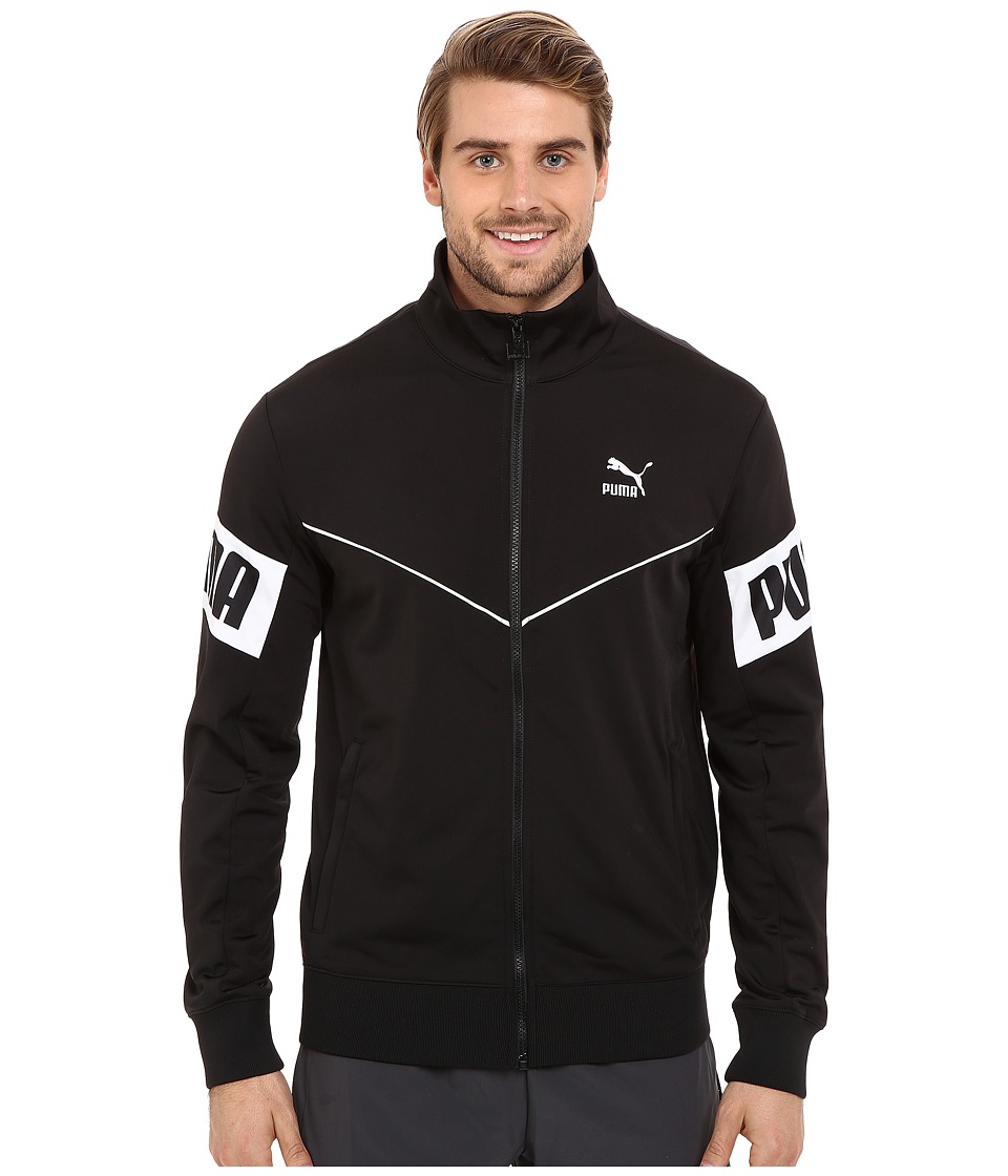 PUMA - Football Track Jacket (Black) Men's Coat