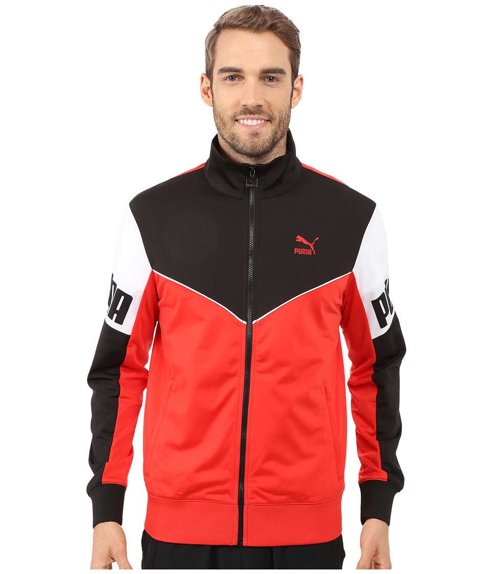 PUMA - Football Track Jacket (High Risk Red) Men's Coat