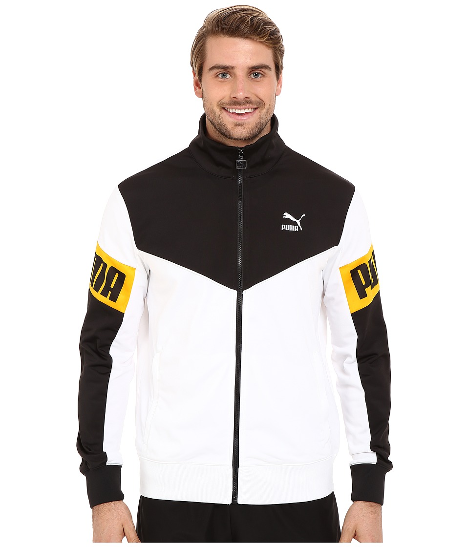 PUMA - Football Track Jacket (White) Men's Coat