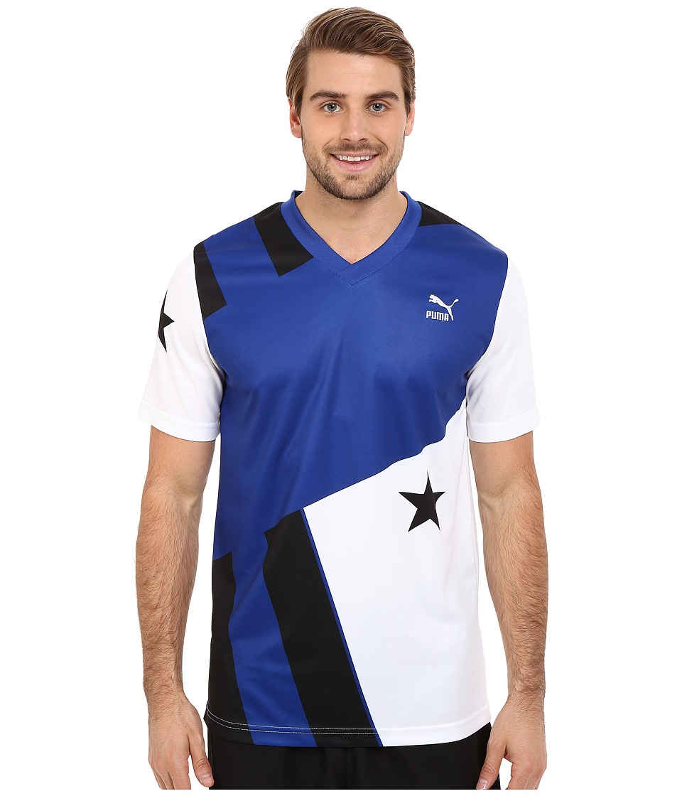 PUMA - Football Stars and Stripes Tee (Surf The Web) Men's T Shirt
