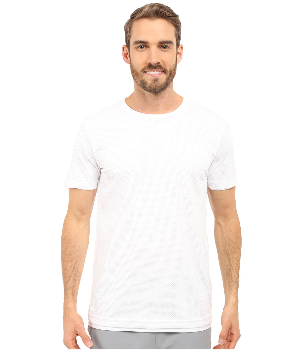 PUMA Evo Mesh Layer Tee (White) Men