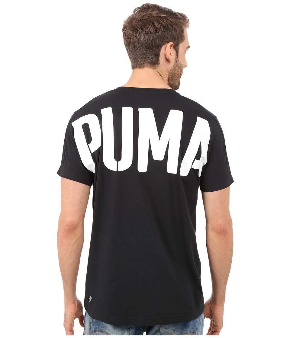 PUMA - Evo Bold Logo Tee (Black) Men's T Shirt