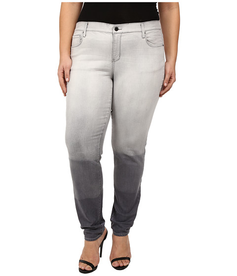 DKNY Jeans - Plus Size Soho Skinny in Grey Hang Bleach (Grey Hang Bleach) Women