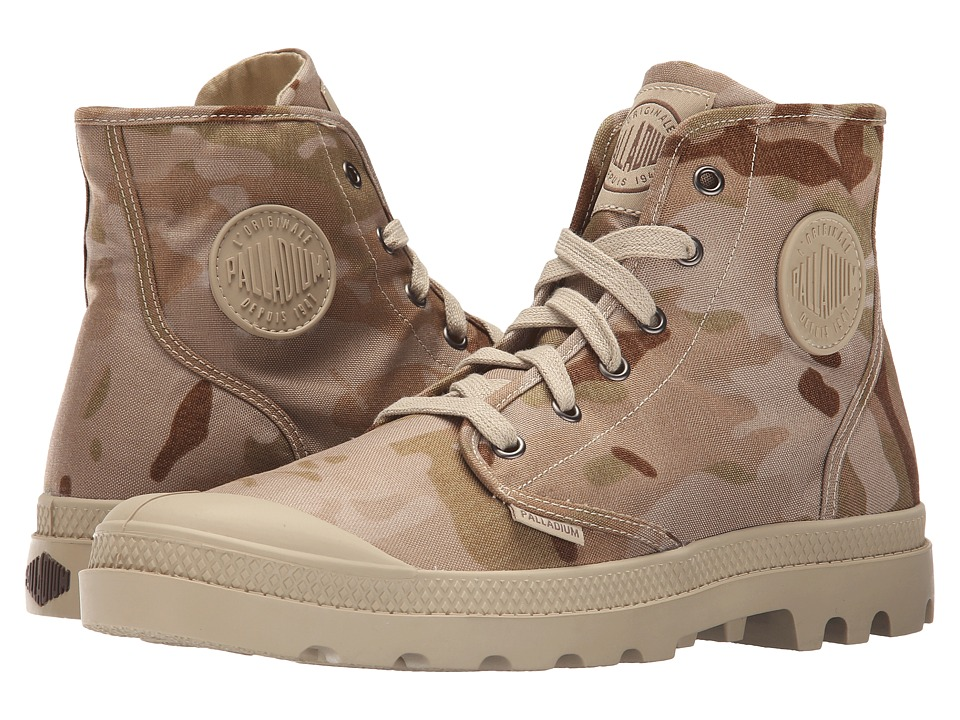 Palladium - Pampa Hi Multicam (Arid Camo) Men's Lace-up Boots