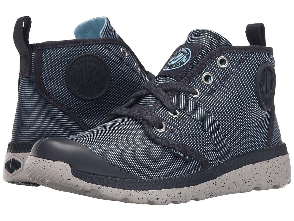Palladium - Pallavill Hi TX (Dark Blue/Black/Wind Chime) Women's Lace up casual Shoes