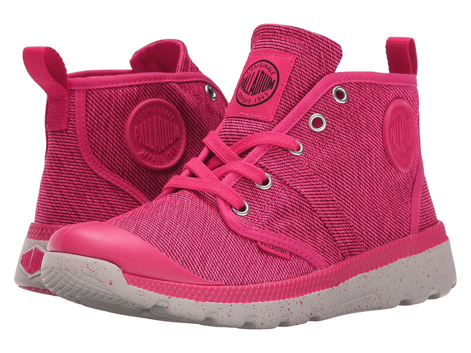 Palladium - Pallavill Hi TX (Raspberry/Black/Wind Chime) Women's Lace up casual Shoes