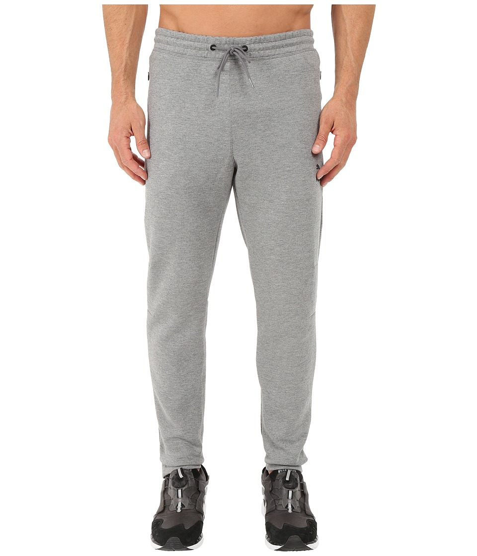 PUMA - Evo Striker Sweat Pants (Medium Gray Heather) Men's Workout