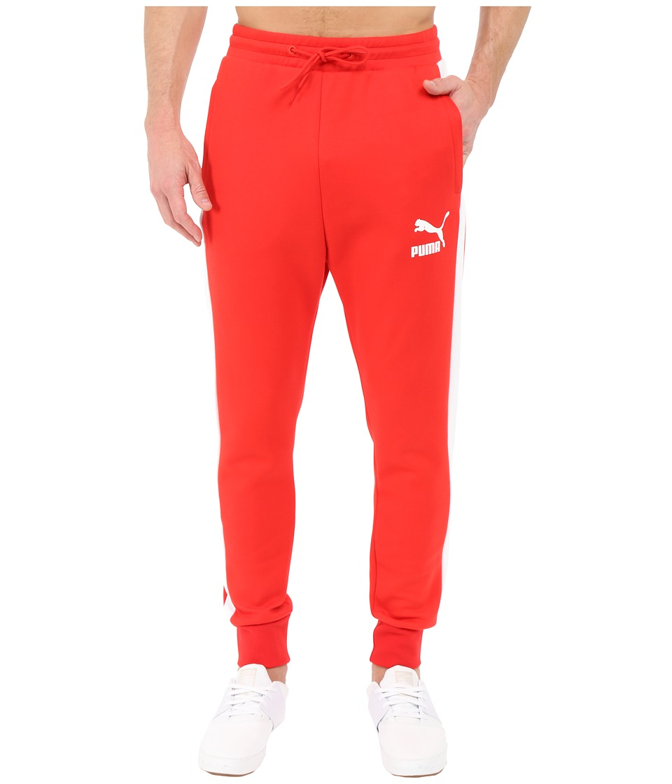 PUMA - Archive T7 Track Pants (High Risk Red) Men's Workout
