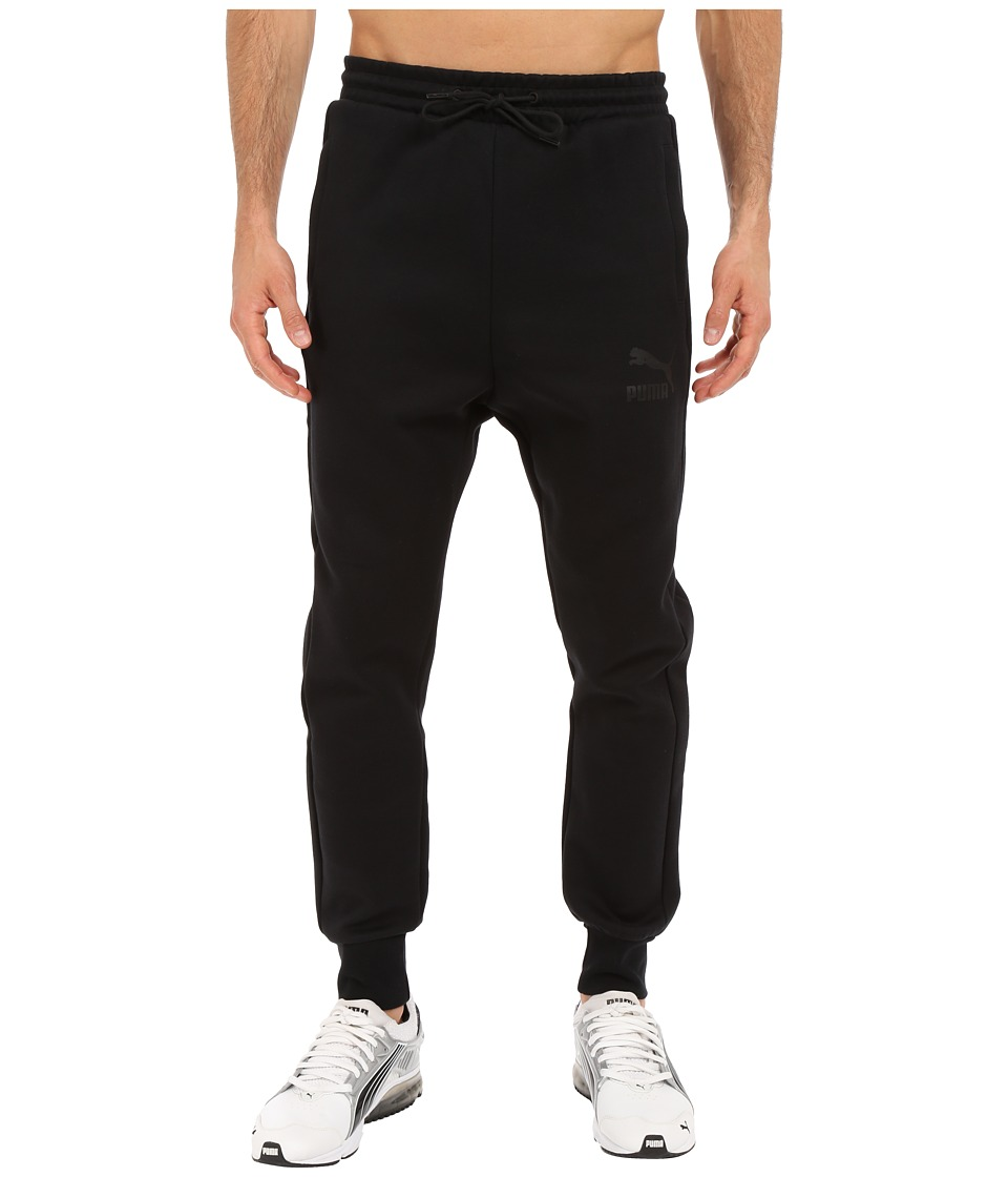 PUMA - Archive T7 Track Pants (Black) Men's Workout