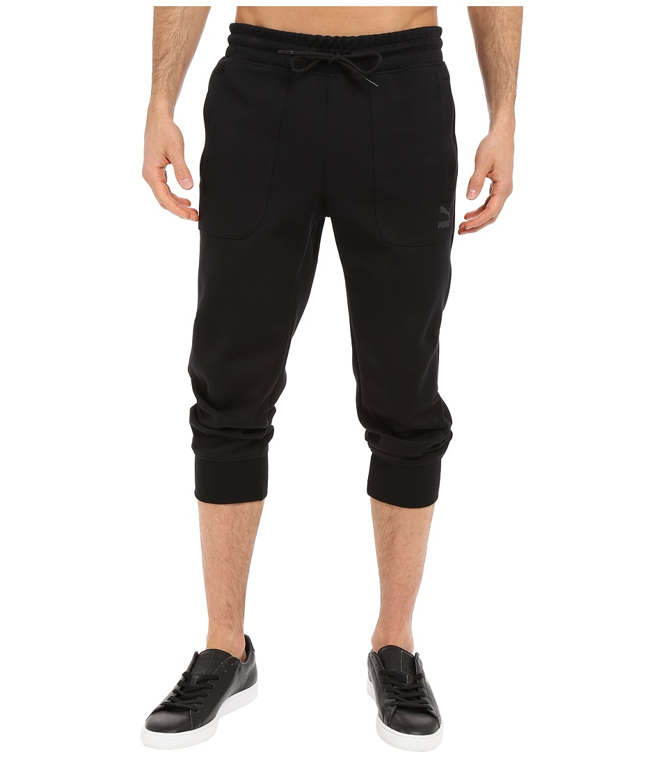 PUMA - Evo Sweat 3/4 Pants (Black) Men's Workout