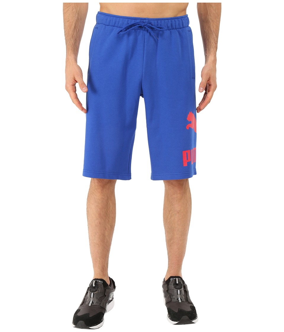 PUMA - Archive Logo Sweat Bermudas (Surf the Web) Men's Shorts