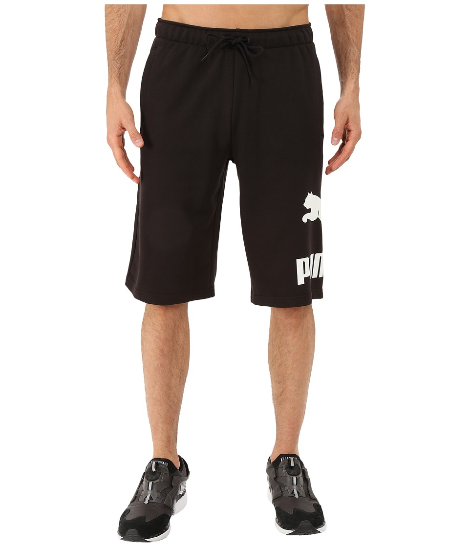 PUMA - Archive Logo Sweat Bermudas (Black) Men's Shorts