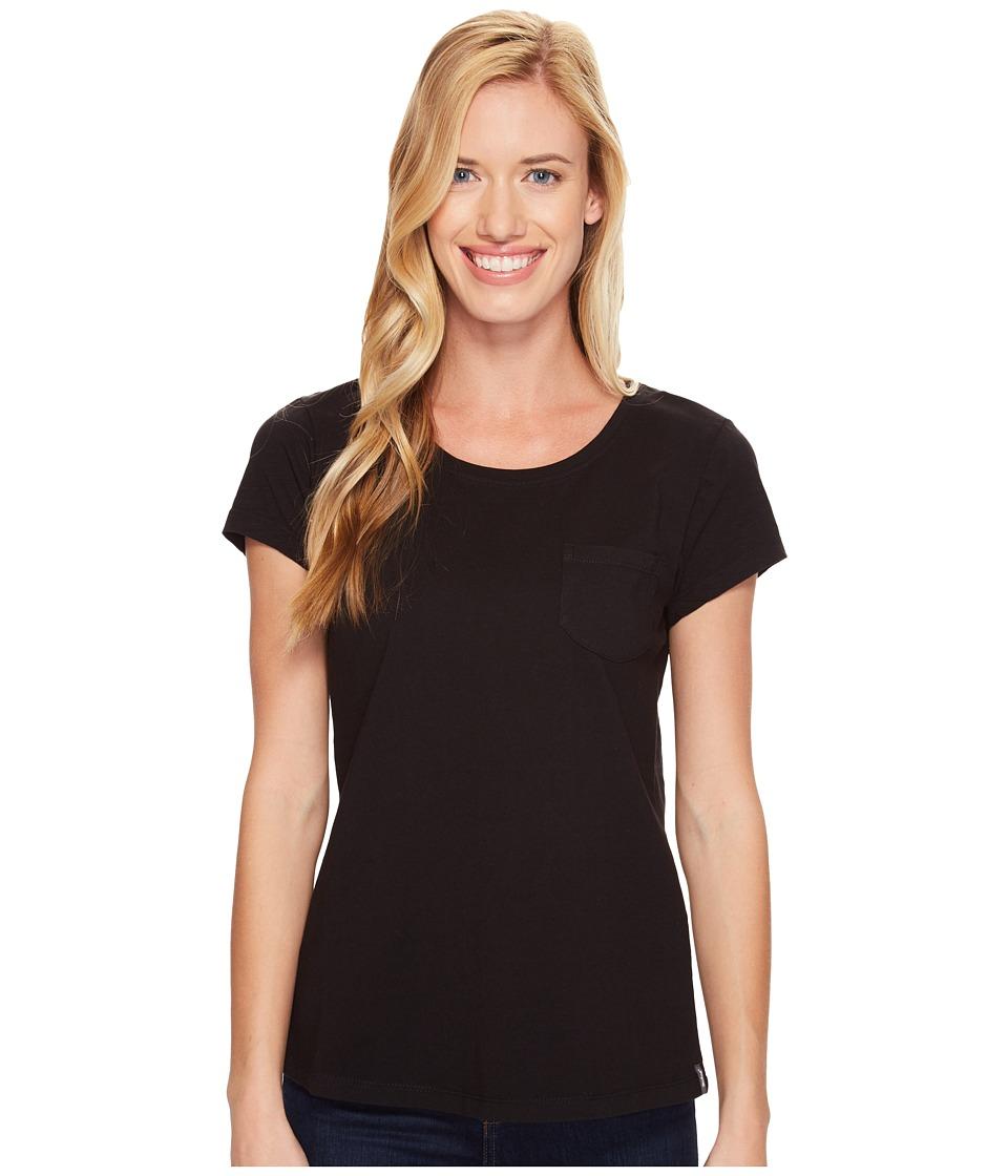 Woolrich - First Forks Short Sleeve Tee (Black) Women's T Shirt