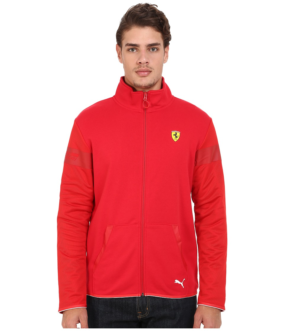 PUMA - SF Sweat Jacket (Rosso Corsa) Men's Coat