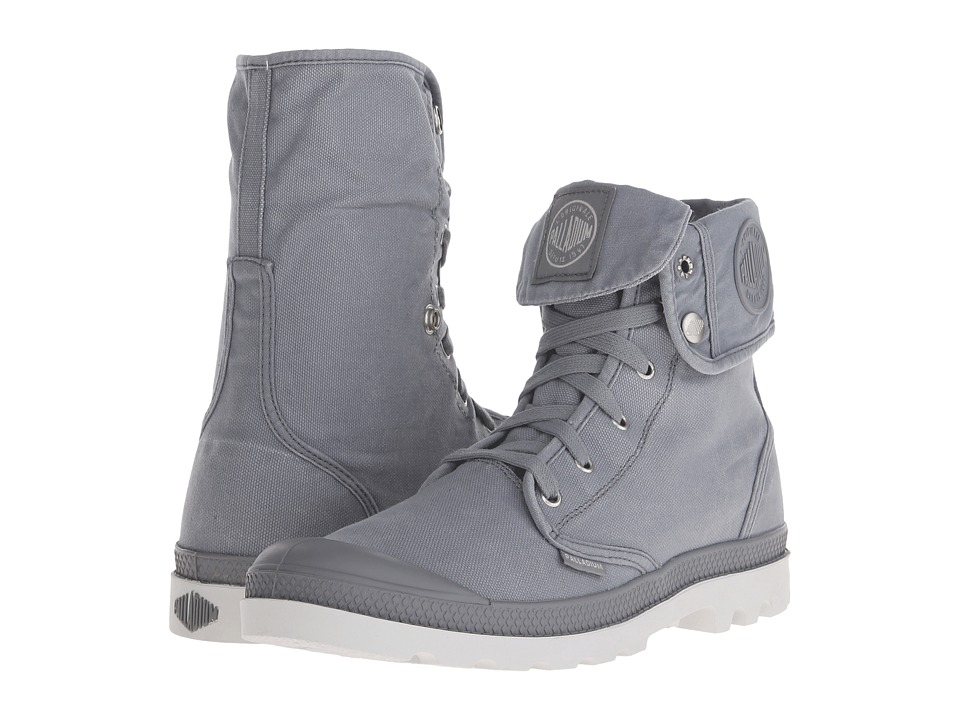 Palladium - Baggy (Monument/Dawn Blue) Men's Lace-up Boots