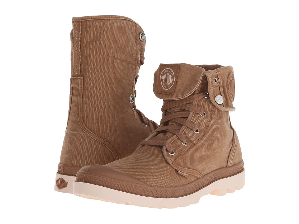 Palladium - Baggy (Toasted Coconut/Sand Dollar) Men's Lace-up Boots