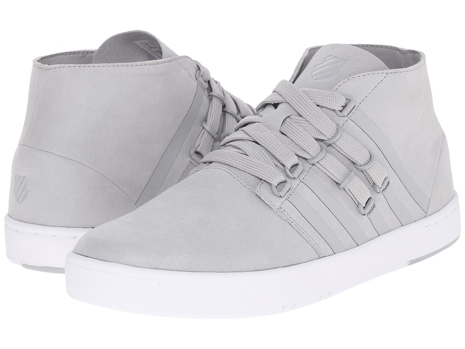 K-Swiss - D R Cinch Chukka (Highrise/White Suede) Men's Shoes