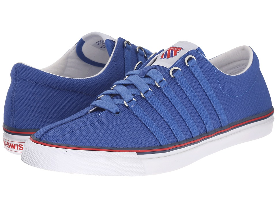 K-Swiss - Surf 'N Turf OG (Classic Blue/Ribbon Red/White Canvas) Men's Shoes