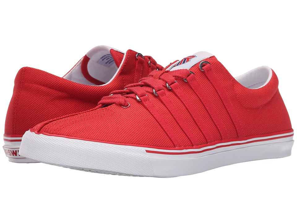 K-Swiss - Surf 'N Turf OG (Ribbon Red/Classic Blue/White Canvas) Men's Shoes