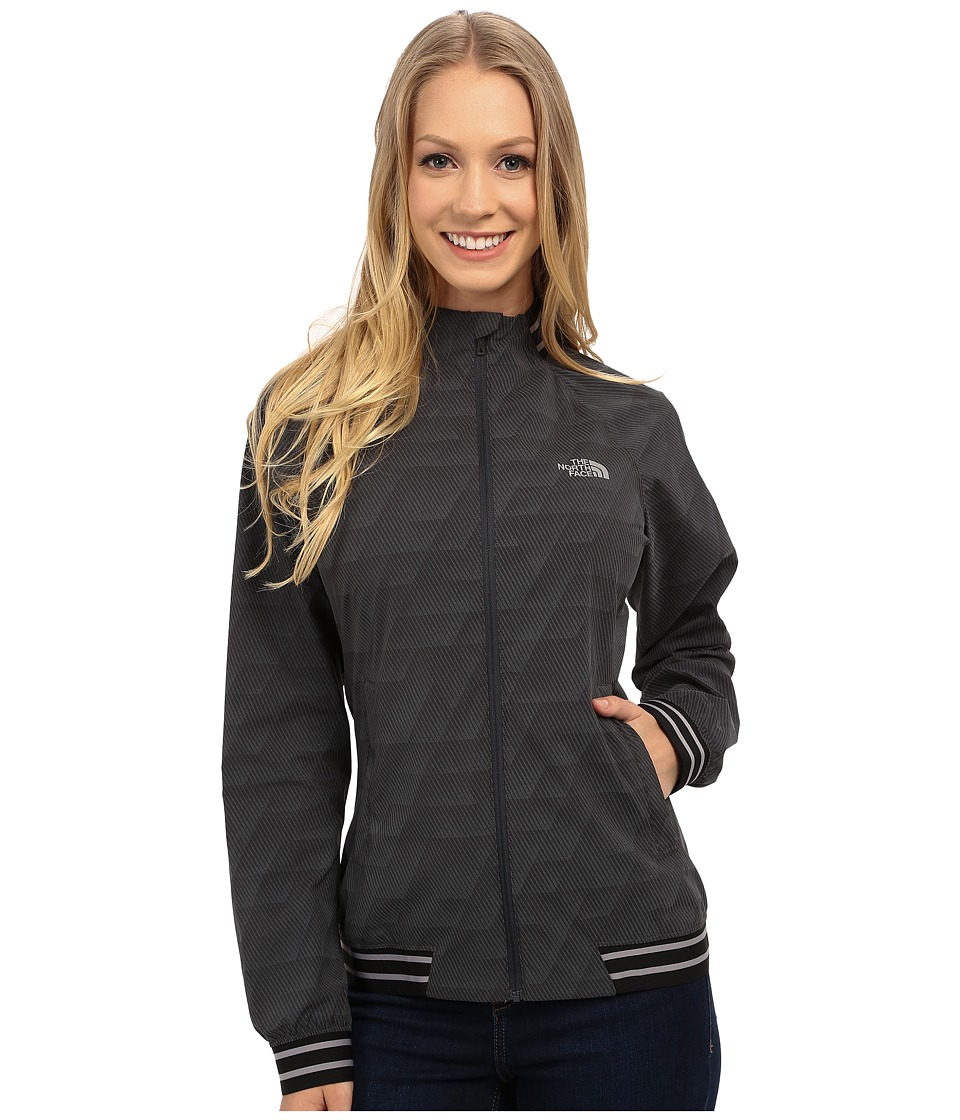 The North Face - Rapida Moda Jacket (Asphalt Grey Reflective Print) Women's Coat