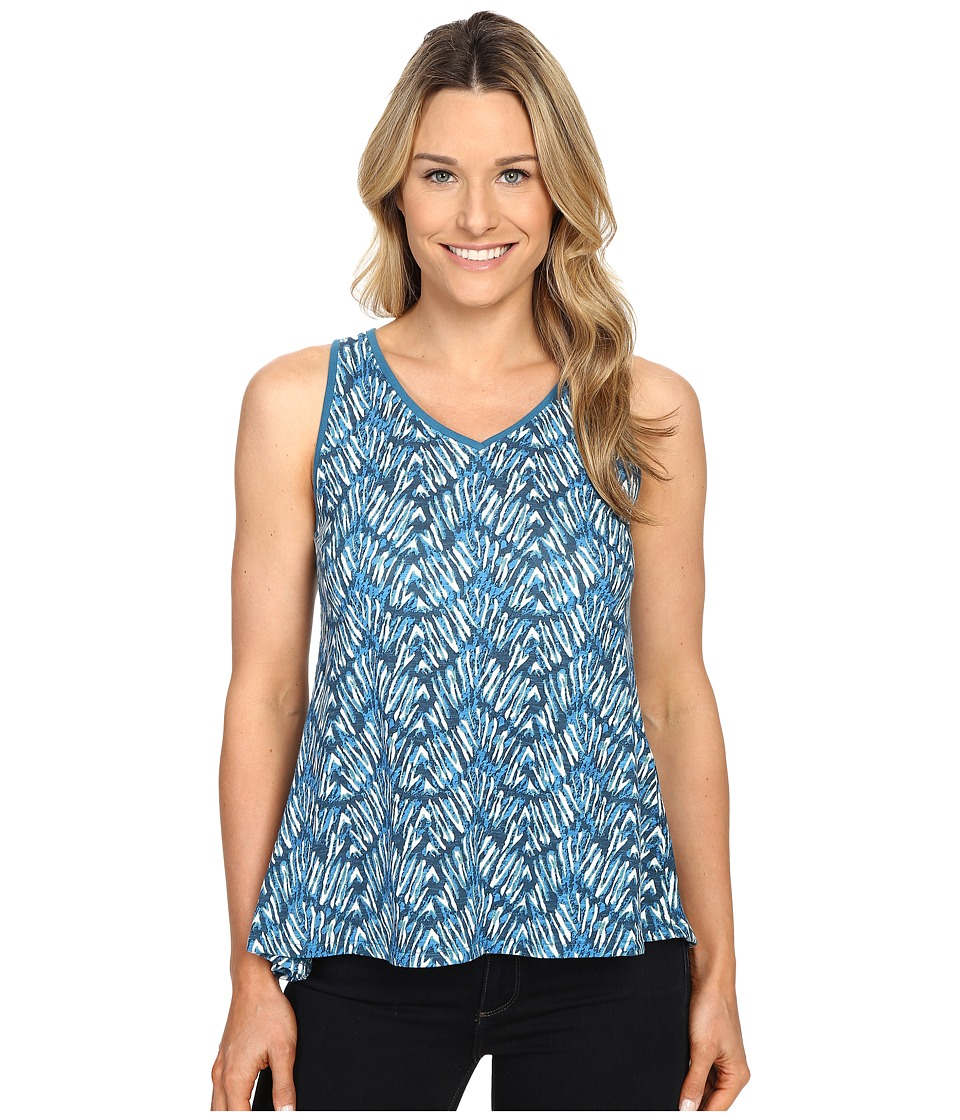 Woolrich - Elemental Printed Tank (Seaport) Women's Sleeveless