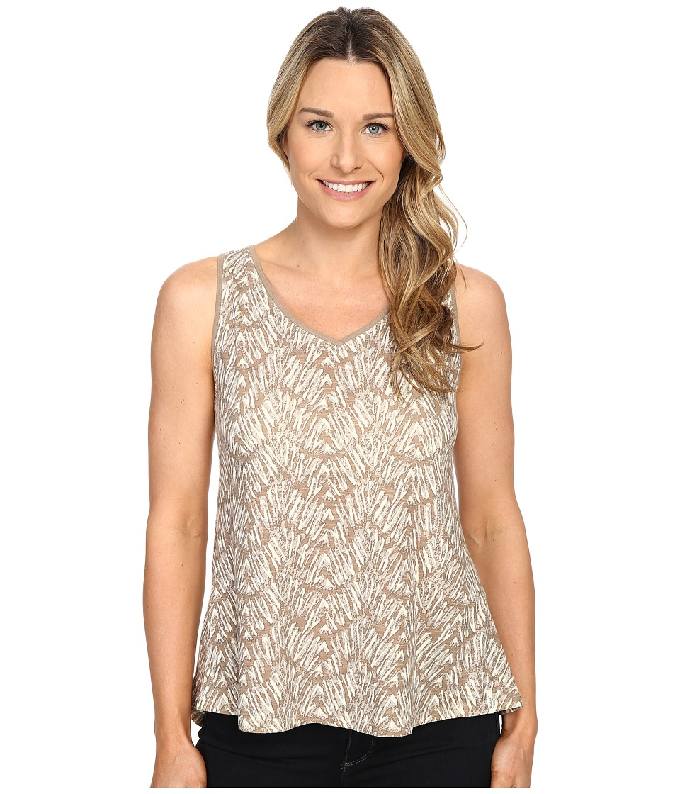 Woolrich - Elemental Printed Tank (Silver Gray) Women's Sleeveless