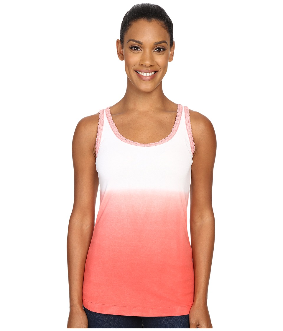 Woolrich - Huckleberry Hills Dip Dye Tank (Hot Guava) Women's Sleeveless
